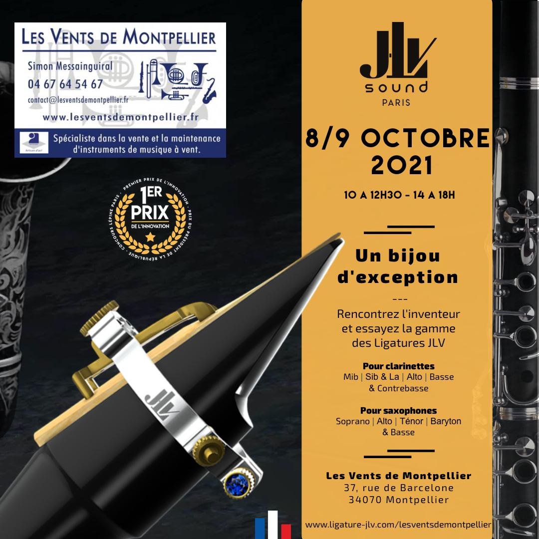 Rencontre avec l'inventeur des Ligatures JLV chez Les Vents de Montpellier