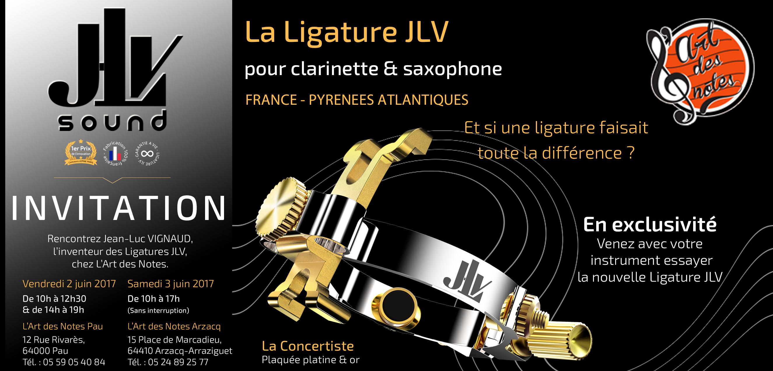 Evénement à Pau et Arzacq le 2 et 3 juin 2017 avec l'inventeur des Ligatures JLV
