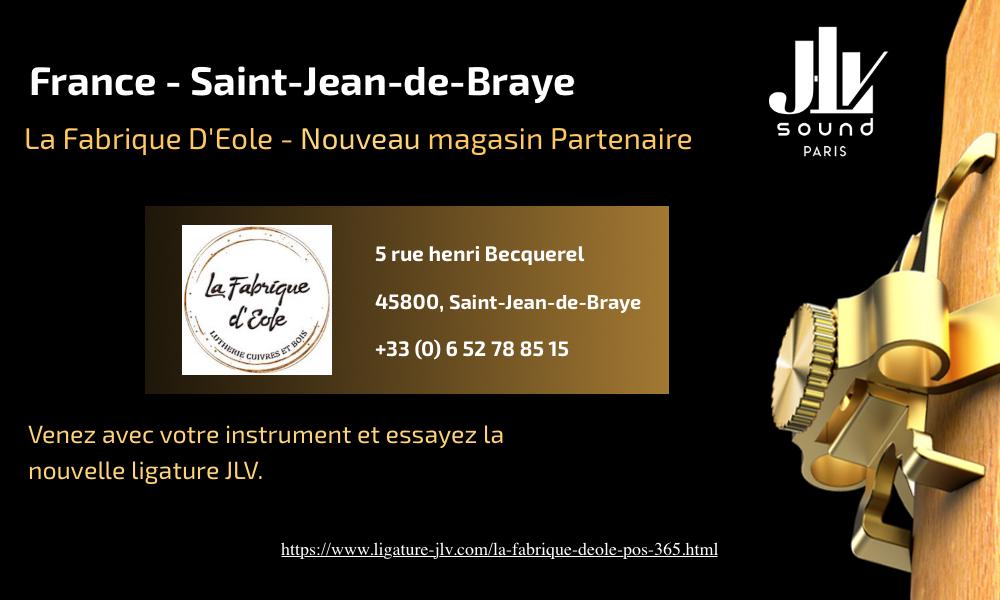 Communication nouveau magasin partenaire JLV La Fabrique d'Éole