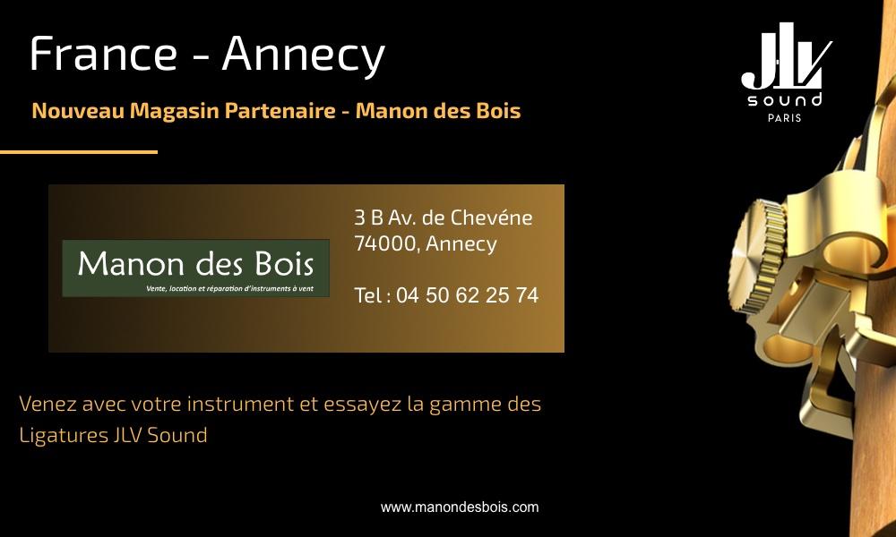Communication nouveau magasin partenaire JLV Manon des Bois