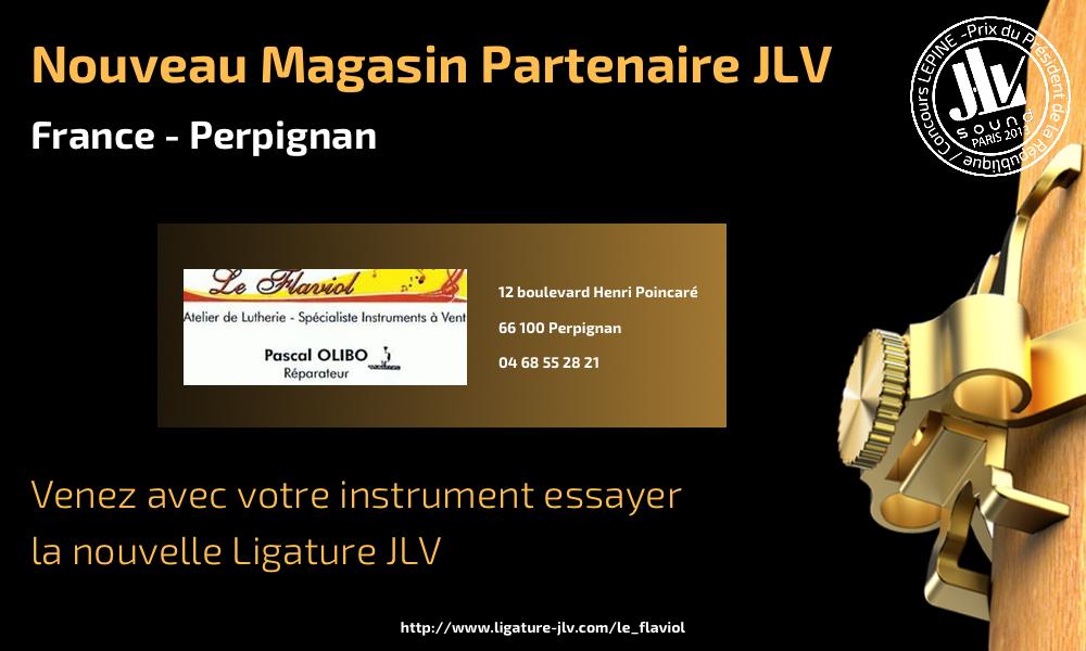 Communication nouveau magasin partenaire JLV Le Flaviol