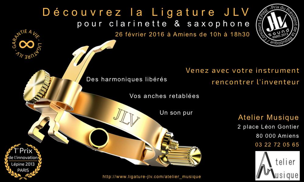 Evénement Atelier Musique à Amiens le 26 février 2016 de 10h à 18h30