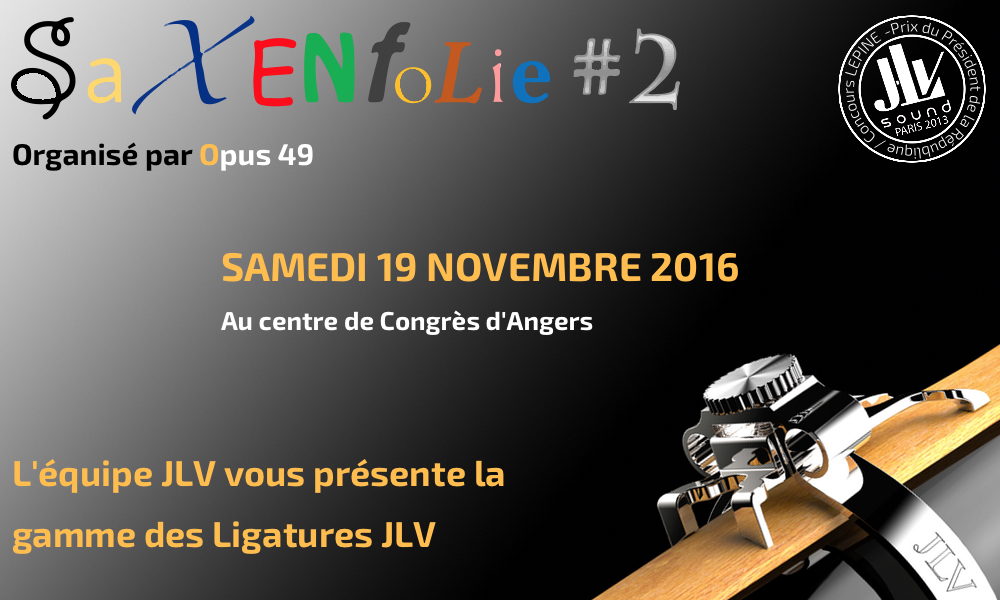 Event SaxEnFolie2 november 19 2016 in Angers