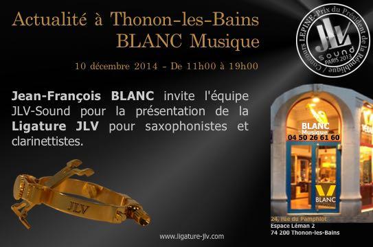 Blanc Musique - Thonon-les-Bains - Magasin partenaire JLV
