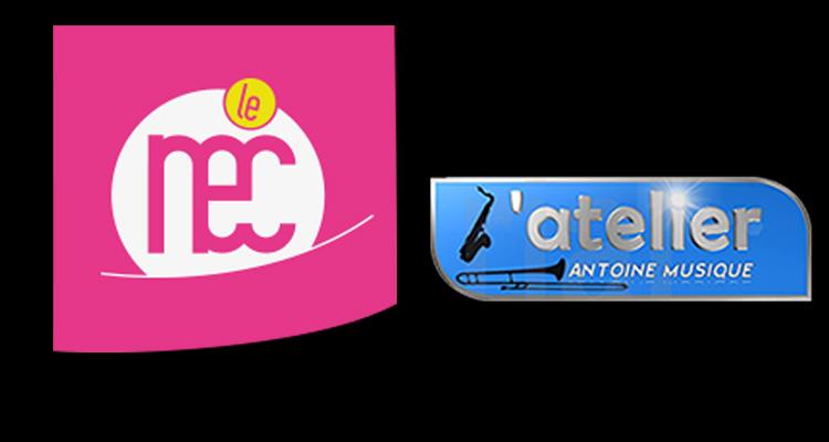 Logo Le Nec Marly & L'Atelier Antoine Musique