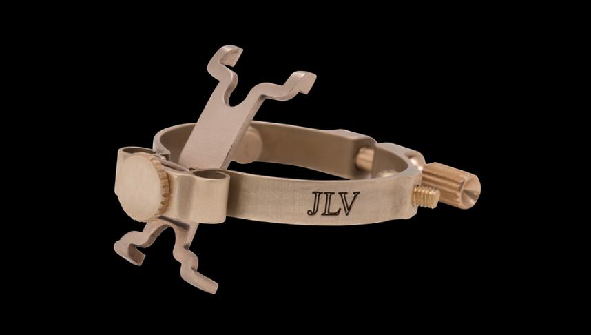 Ligature JLV brossée pour saxophone & clarinette