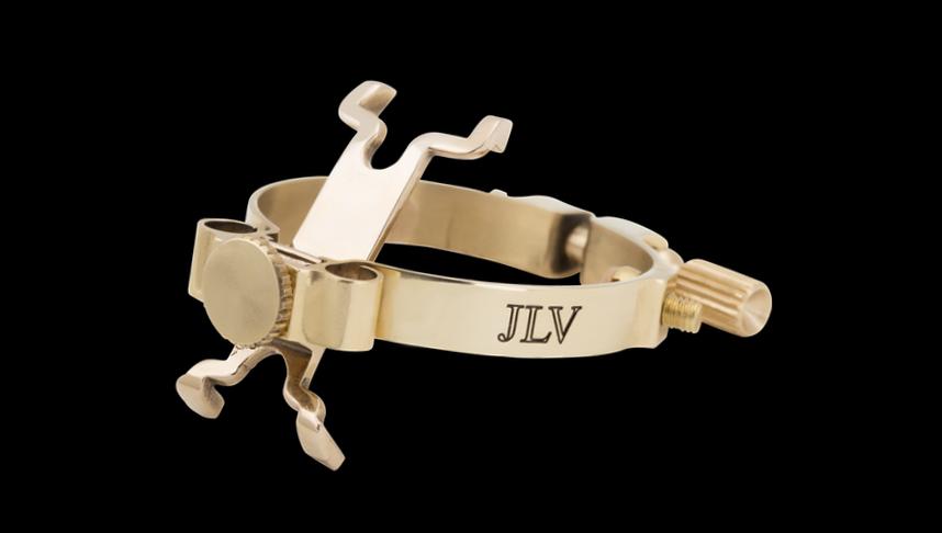 Ligature JLV poli pour saxophone & clarinette