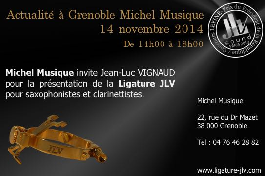 Michel Musique - Grenoble - JLV partner shop