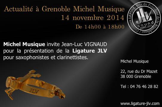 Michel Musique - Grenoble - Magasin partenaire JLV