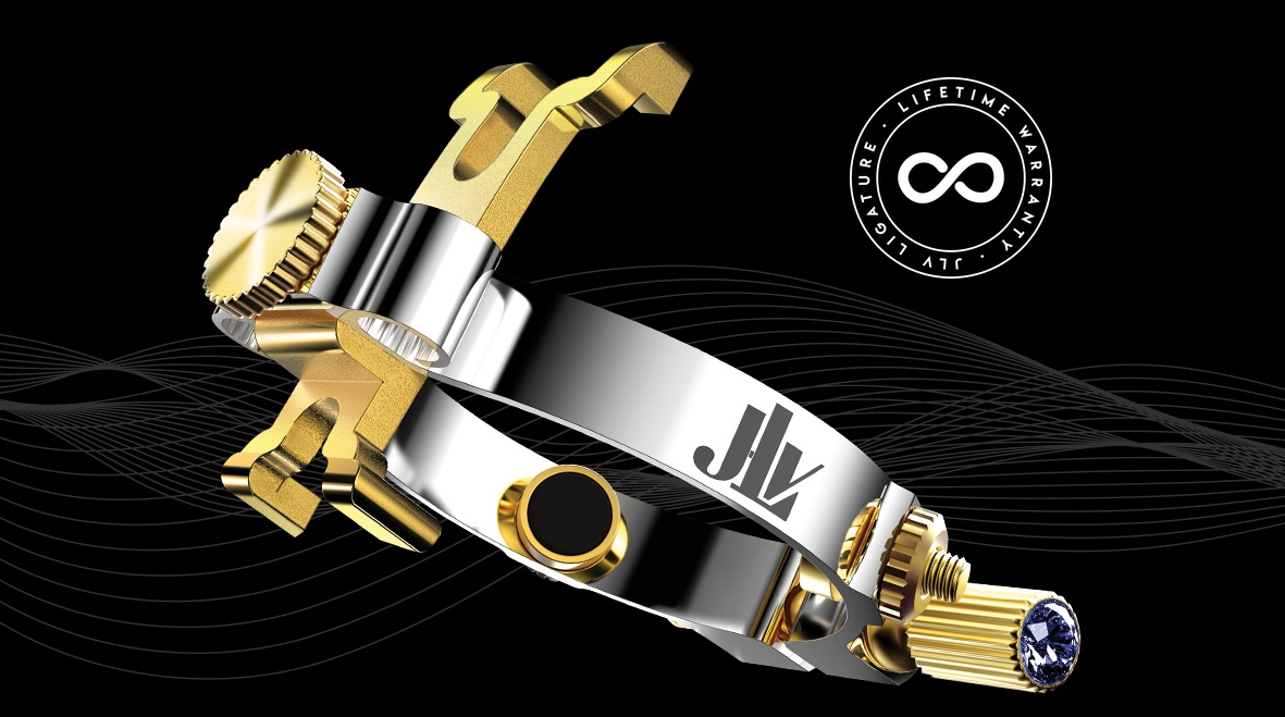 JLV Ligature platinum & gold plated