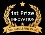 Logo 1er Prix de l'innovation Concours Lépine Paris