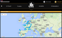 Carte des magasins Ligature JLV