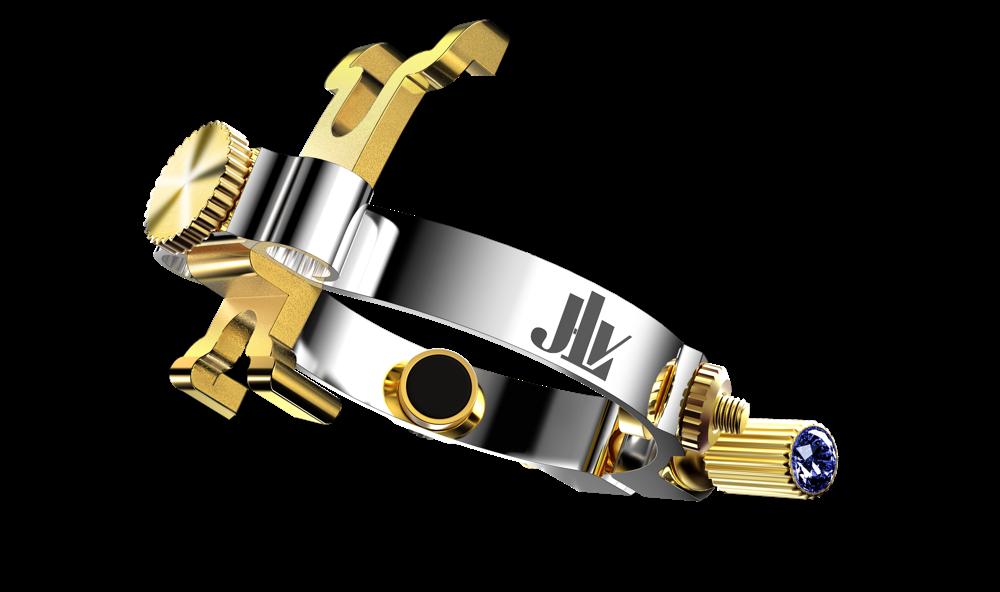 Photo de la Ligature JLV pour clarinette et saxophone