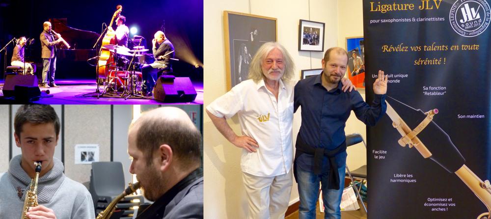 Jean-Luc Vignaud meets Stefano Di Battista in the Festival