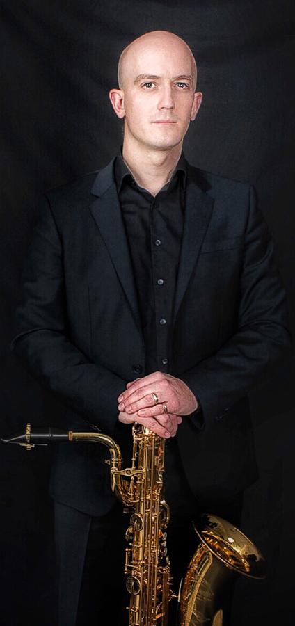 ECHO Benjamin Chalat Ambassadeur Ligature JLV saxophone baryton