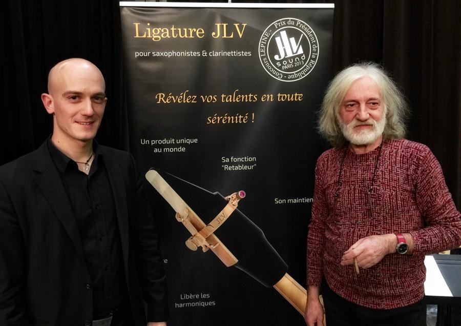 ECHO Benjamin Chalat et Jean-Luc VIGNAUD, inventeur des Ligatures JLV