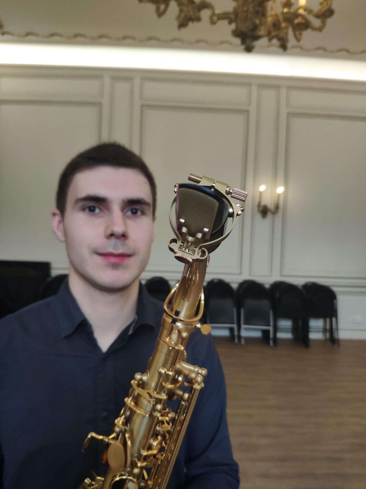 Alexandr BOBEYKO - Ambassadeur JLV - Ligature JLV pour saxophone