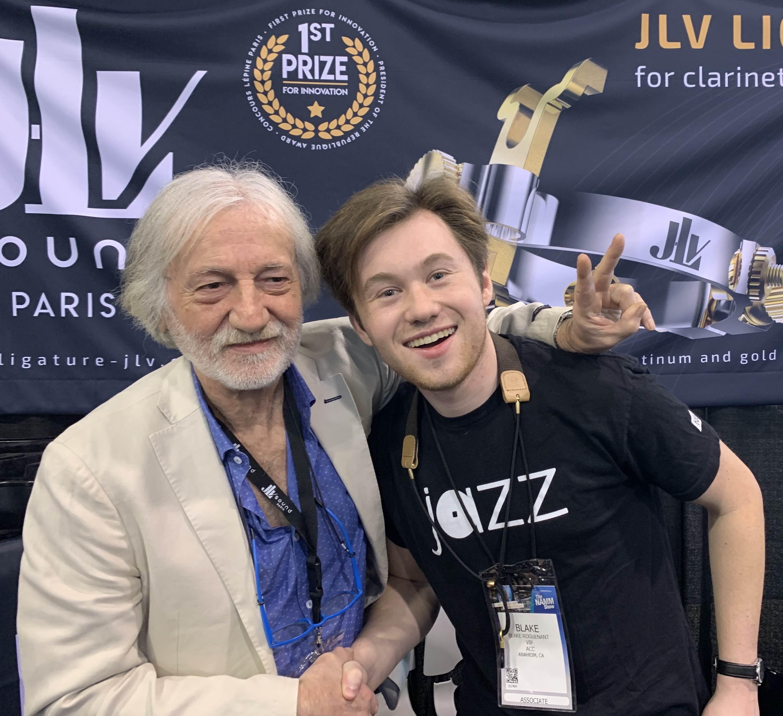Blake ROGUENANT Ambassadeur JLV - Ligature JLV pour saxophone