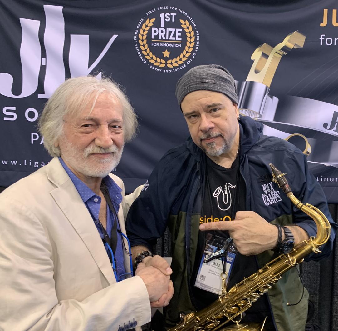 Bob FRANCESCHINI Ambassadeur JLV - Ligature JLV pour saxophone