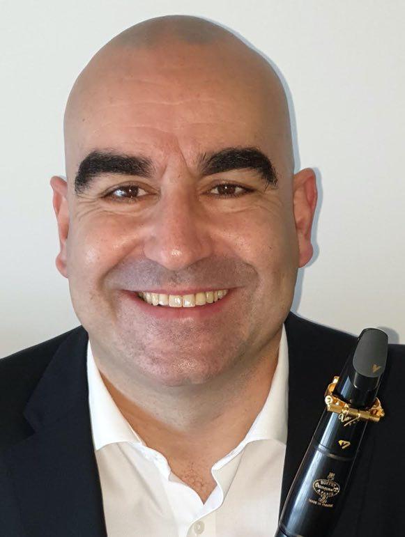 Carlos ALVES - Ambassadeur JLV - Ligature JLV pour clarinette
