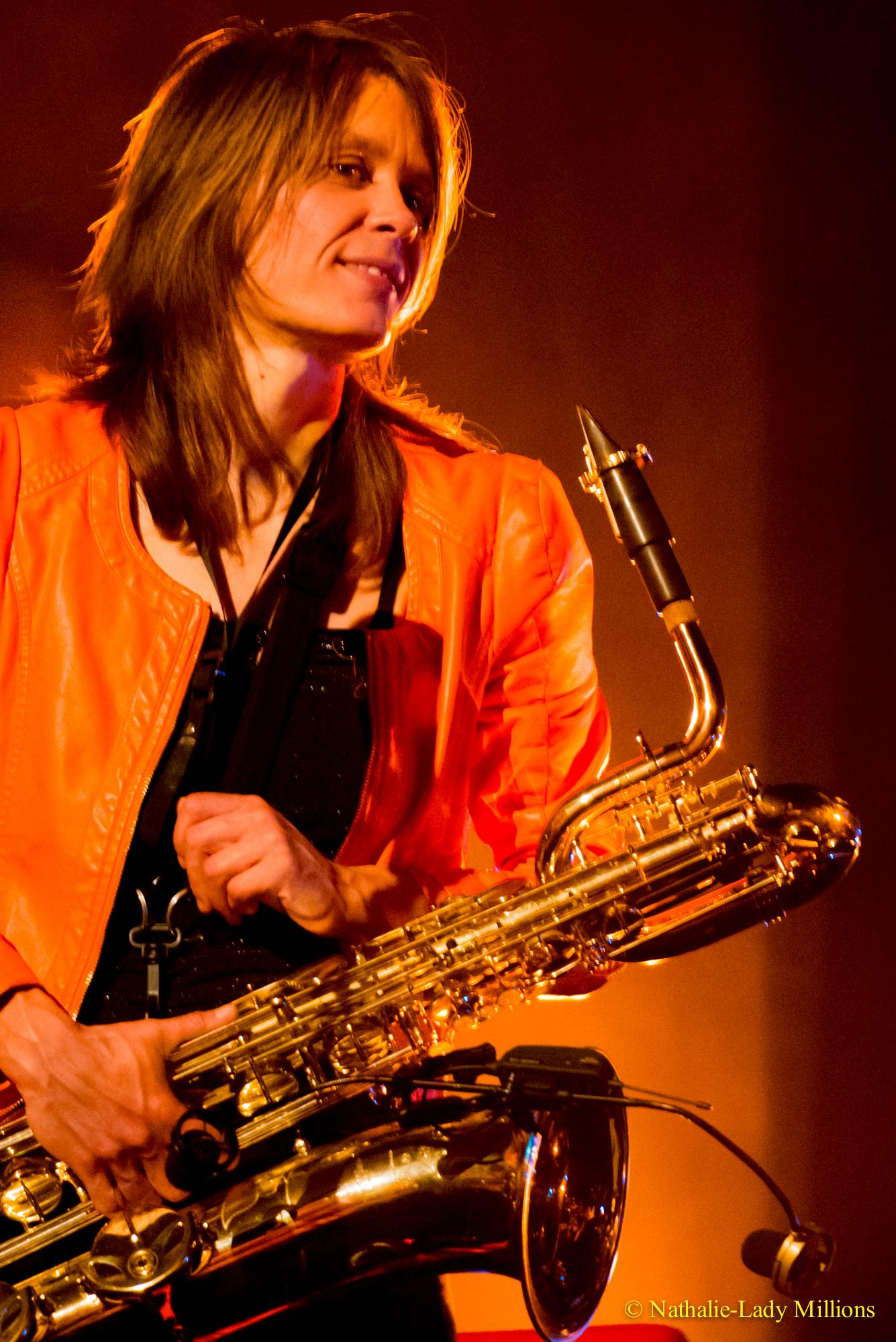Céline BONACINA - Ambassadrice JLV - Ligature JLV pour saxophone