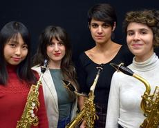Ensemble RAYUELA Ambassadrices Ligature JLV pour saxophone