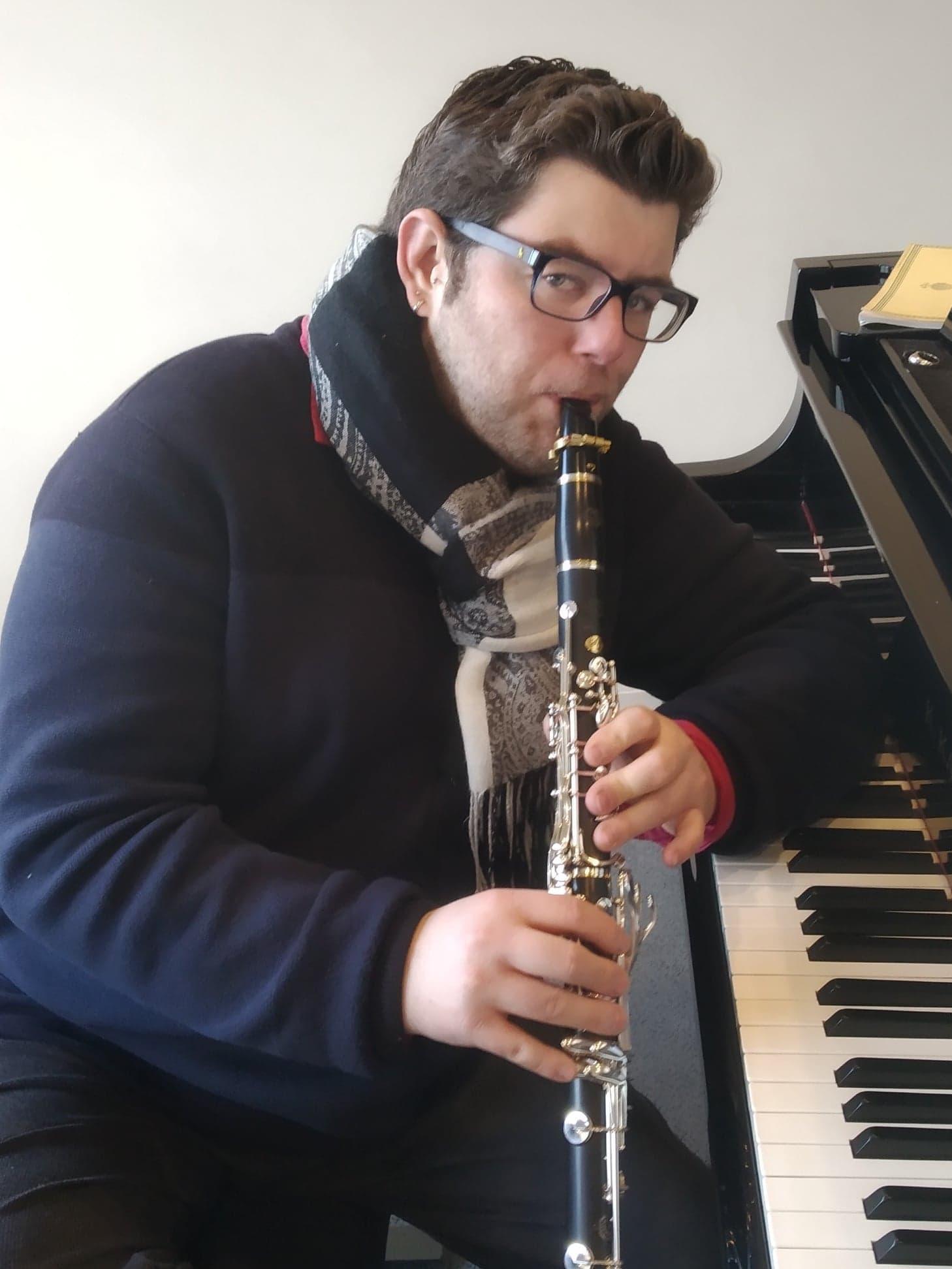 Hugo mondiere Ambassadeur JLV - Ligature JLV pour clarinette