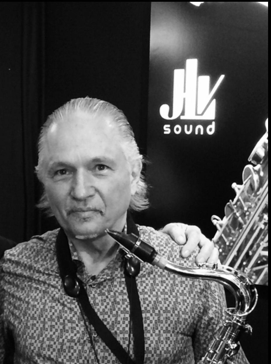 Jerry BERGONZI - Ambassadeur JLV - Ligature JLV pour saxophone
