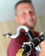 Loïc POINSENET JLV Ligature Ambassador for saxophone and clarinet