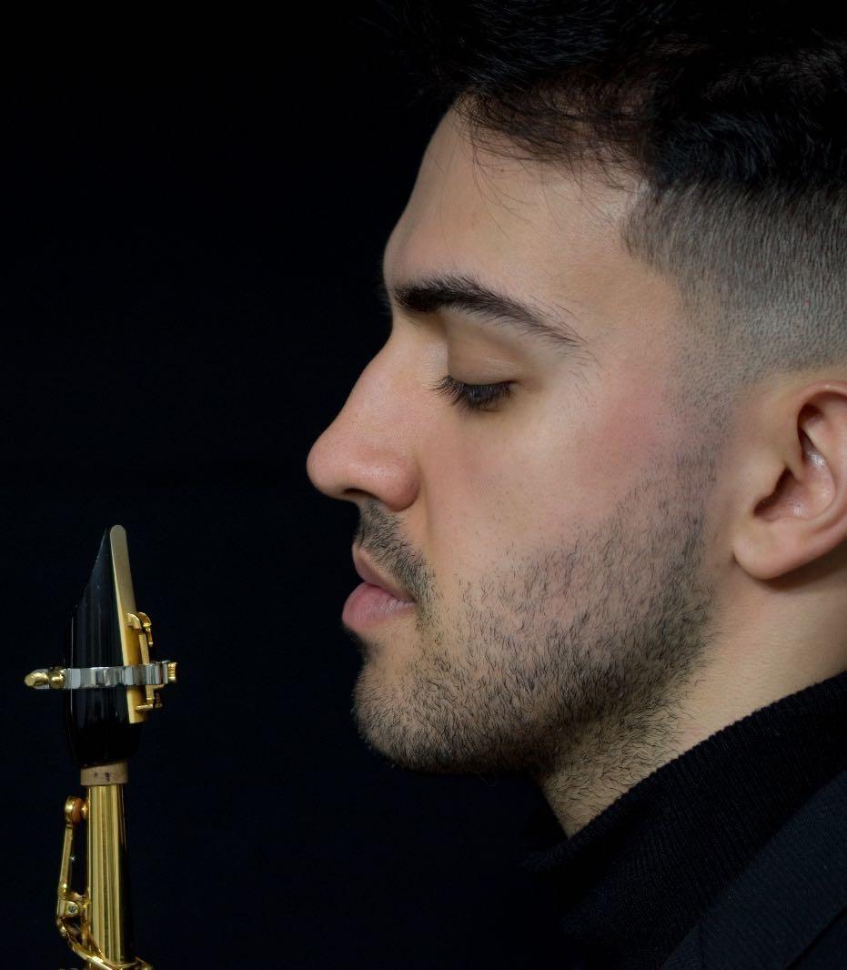 Luis GONZALEZ GARRIDO JLV Ambassador - JLV Ligature for saxophone