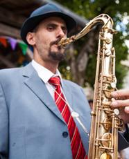 Michael BOUGON Ambassadeur Ligature JLV pour saxophone et clarinette