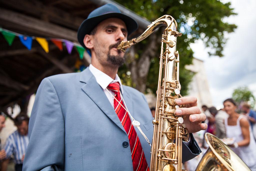 Michael BOUGON - Ambassadeur JLV - Ligature JLV pour saxophone