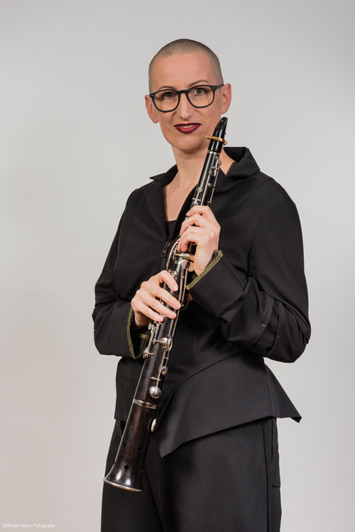 Nikola LUTZ - Ambassadrice JLV - Ligature JLV pour clarinette