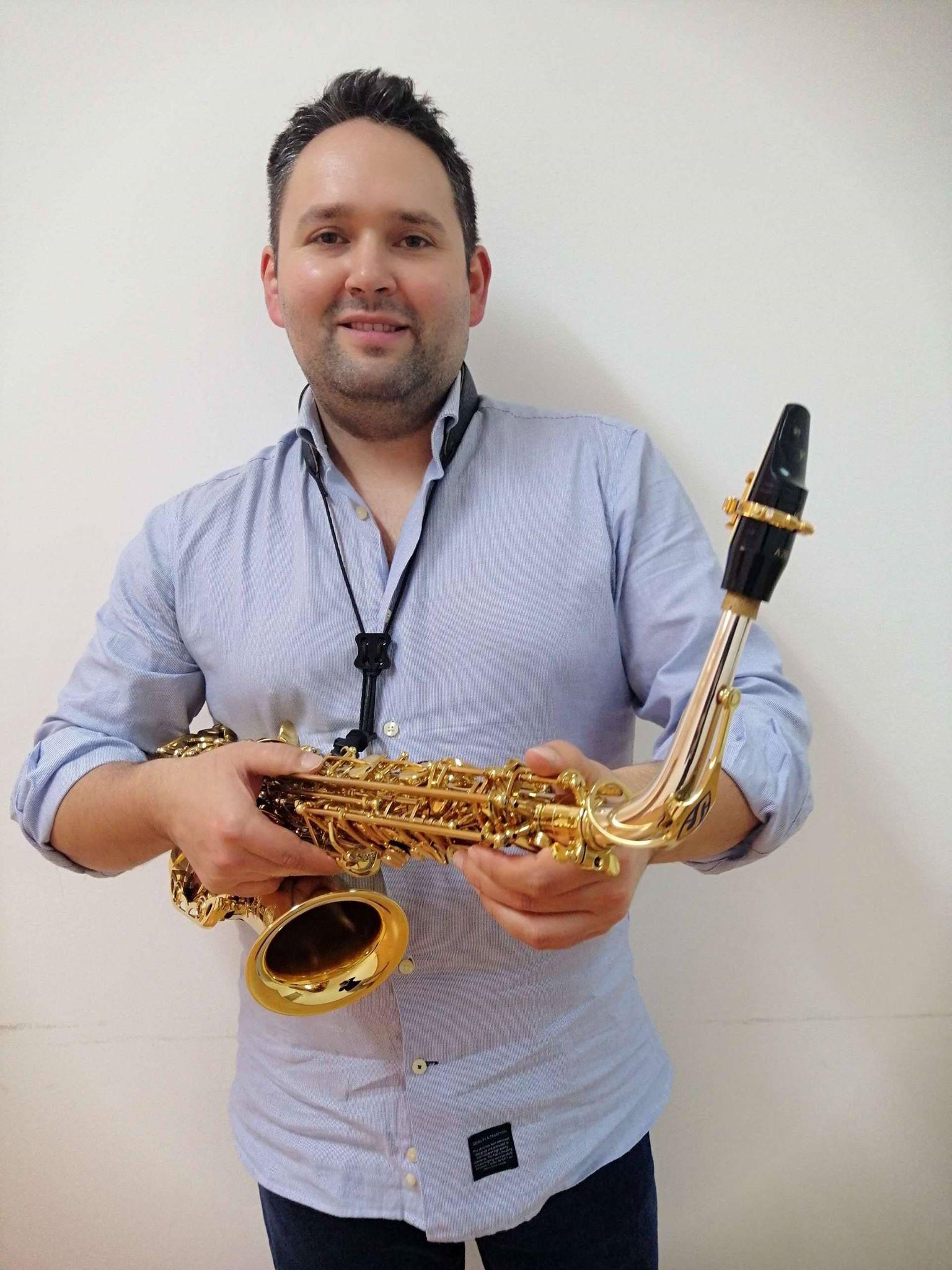 Pedro CARVALHO - JLV Ambassador - JLV Ligature for saxophone