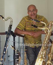 Ronald ALPHONSE Ambassadeur Ligature JLV pour saxophone et clarinette