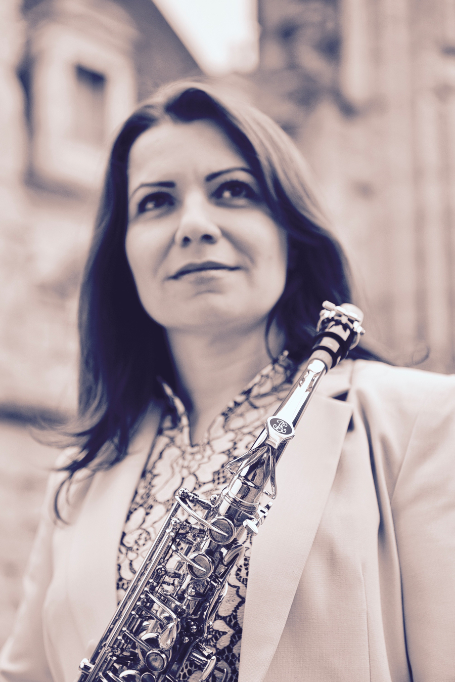 Véronique TARDIF Photo 1 - Ambassadrice Ligature JLV pour saxophone