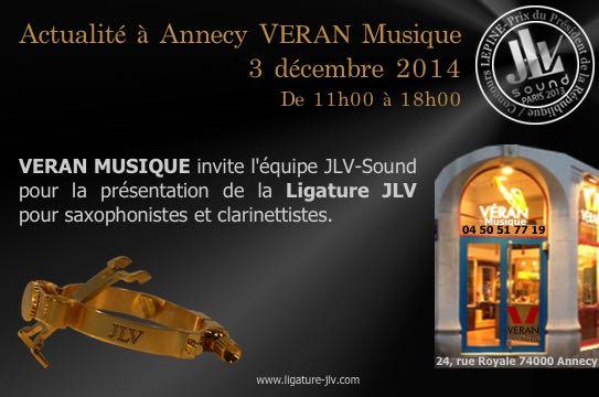Véran Musique - Annecy - Magasin partenaire JLV